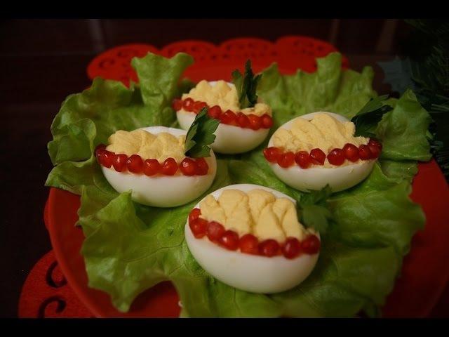 ФАРШИРОВАННЫЕ яйца с МЯСОМ КРИЛЯ!