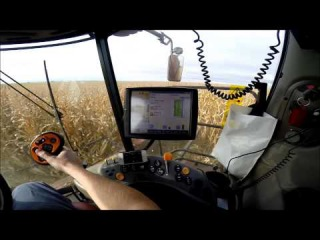 2013 Harvest in a 7230 Case IH Combine