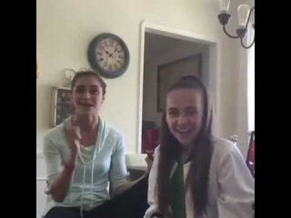 Live in Facebook with Alyson Stoner & Kaycee Rice.