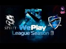 Team Spirit vs Vega (bo1) (Ru) | WePlay Dota 2 S3 (04.02.2016)