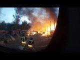 Пожарный клип глазами водителя