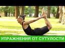 Упражнения от сутулости. Комплекс для осанки и здоровой спины на 20 минут