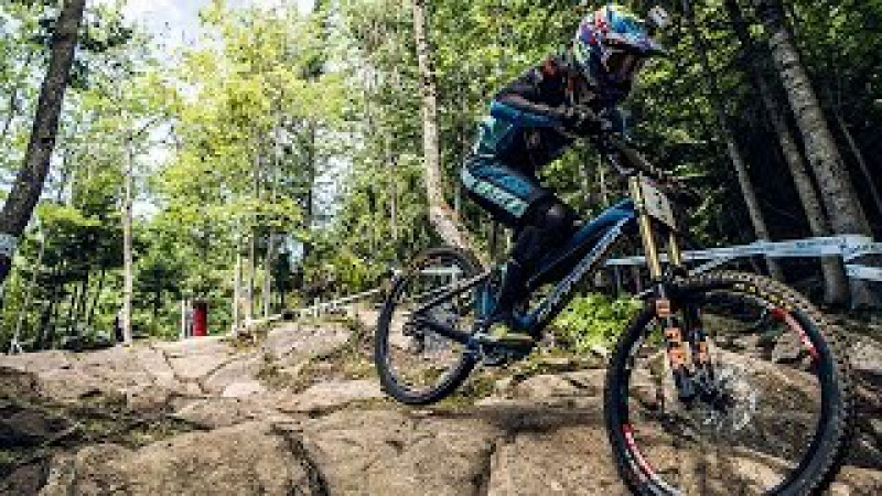 Danny Hart's BLAZING MTB Winning Run at Mont-Sainte-Anne | UCI MTB World Cup 2016