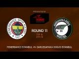 Highlights: Fenerbahce Istanbul-Darussafaka Dogus Istanbul
