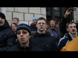 700 тыс, человек поют гимн Украины, Майдан, 1 декабря