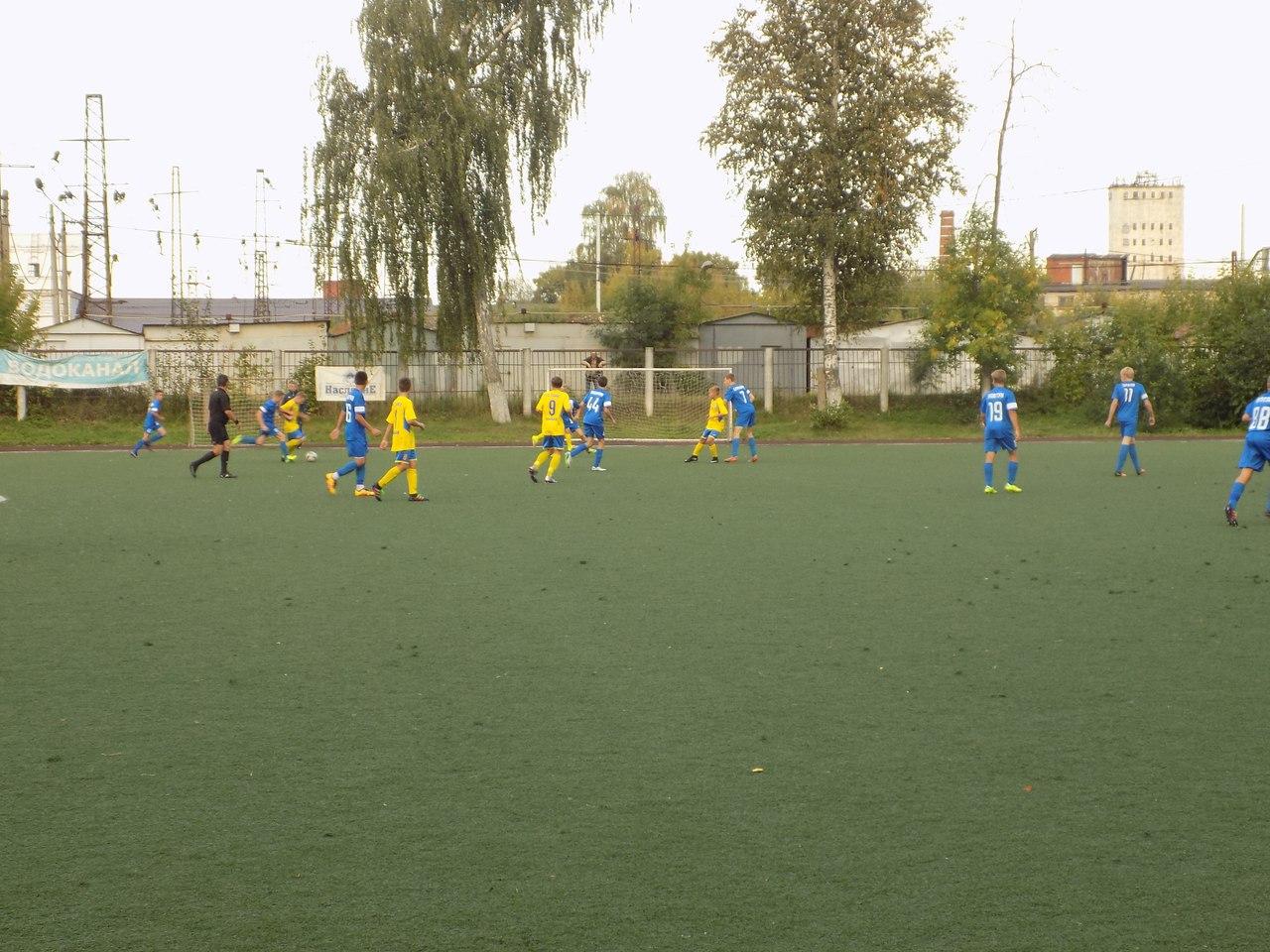 Команды ДЮСШ «Витязь» 2000 и 2002 г.р. в 17 туре Первенства России одержали две победы