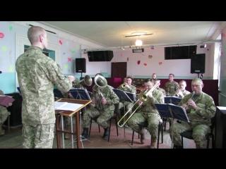 Військовий оркестр м.Охтирка. Два дубки
