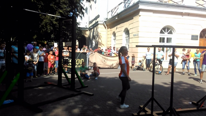 Олеся Кравчук Freestyle (Sambir Workout Fest)