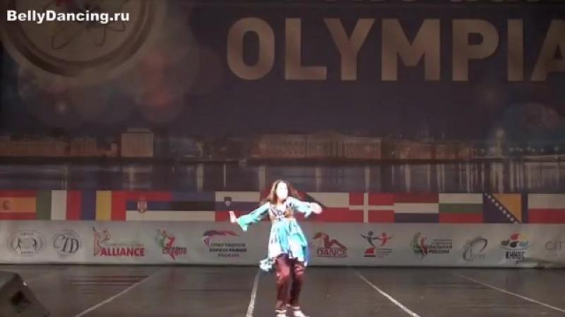 Сабина Гаджибабаева. II Балтийская Олимпиада, Санкт-Петербург