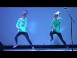 Танец в стиле Hip-Hop (1) - Соня и Ксюша Макиенко - Битва талантов-2015 (Сумы)