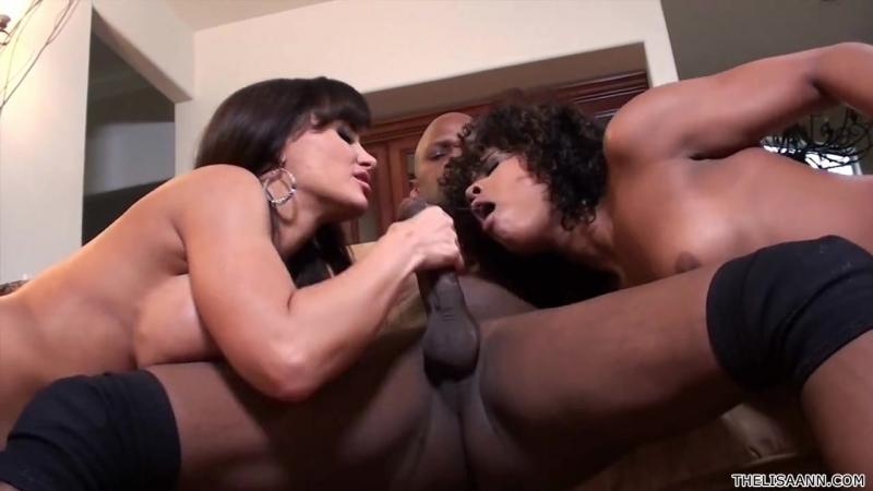 Super MILF Lisa Ann with Black Guy and Black