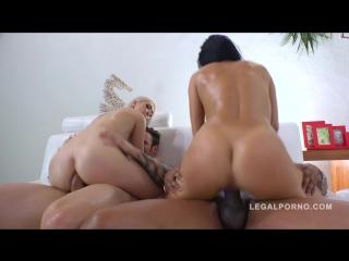 Megan Rain, Jenn Stefani [Anal TEEN group fuck sex porn 2016 HD]