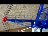 Балочно-арочное перекрытие - SMK 10.200 - Модель Башенного Крана в масштабе 1:40