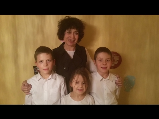 Семья Костоусовых и Лурье из Канады, город Калгари
