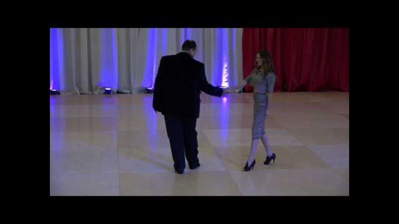 John Lindo and Jessica Cox at New Year's Dance Extravaganza 2014
