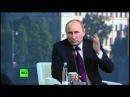Выступление Путина и Меркель (фрагмент