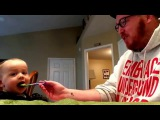 Dad Sings while Feeding Baby 13: The Green Bean Chronicles