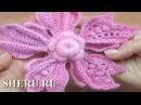 Презентация Урока 149 вязания крючком великолепного цветка с объемными лепестками