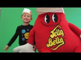 Смотрим как делают конфеты, Джэлли Бэлли Фабрика тур // visiting Jelly Belly Factory