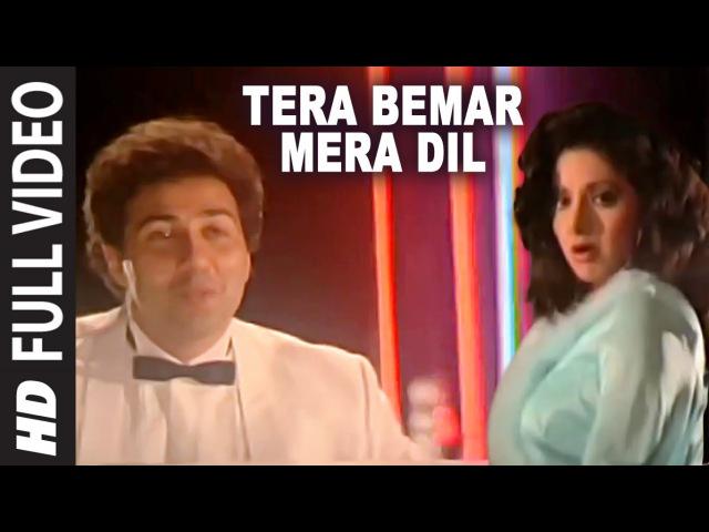 Tera Bemar Mera Dil Full HD Song   Chaal Baaz   Sunny Deol, Sridevi
