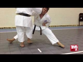 One Minute Bunkai: Naihanchi Shodan #2