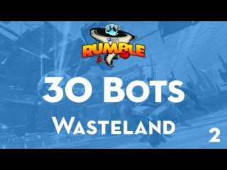 30 Bots - Wasteland (Rocket League: Bots Rumble #2)