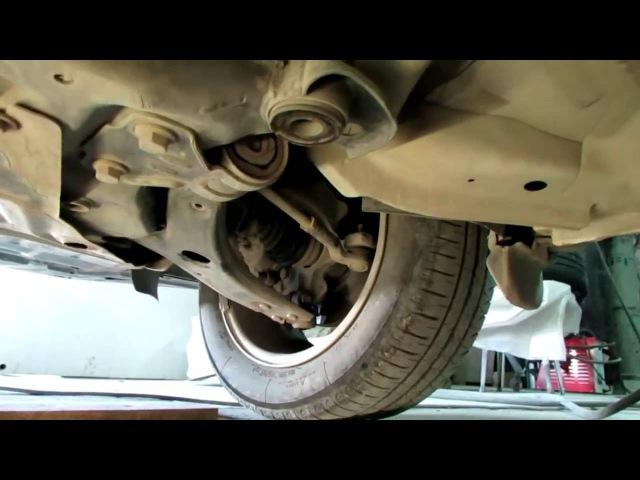 Ford Focus 3 как снять рулевую рейку