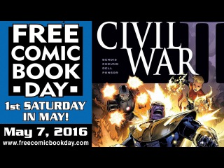 П.С. № 6 День Бесплатных Комиксов 2016 - Free Comic Book Day FCBD See all the FREE books here! FCBD