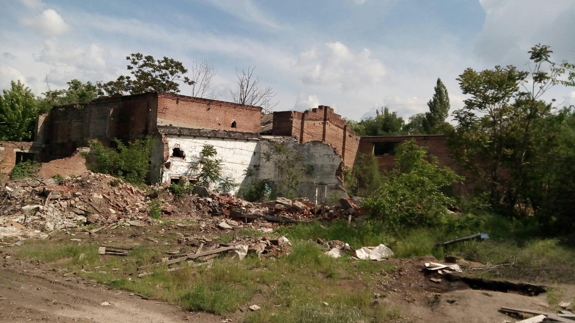 Заброшенная фабрика Rones