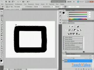 Обзор Adobe® Photoshop® CS5 - Магнитное Лассо - инструмент выделения