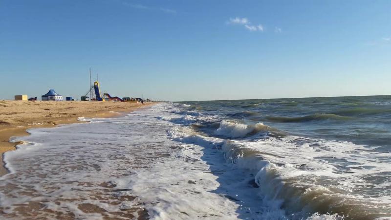 Азовське море.КосаАрабатська стрілка.