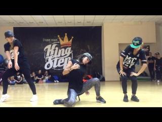 Dancehall choreo by Alina Barilova ! DS KINGSTEP !