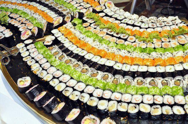 Суши-посиделки