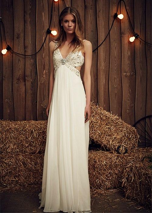 a ZBJ3QX3Co - Платье невесты для тематической свадьбы на пляже (8 фото)