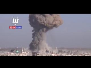 Война в Сирии - Бомбордировки ВКС РФ