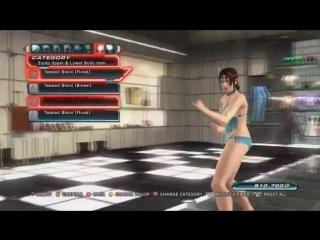 Tekken Tag Tournament 2 Customization Room Bikini Bundle Female Character Models [HD] -