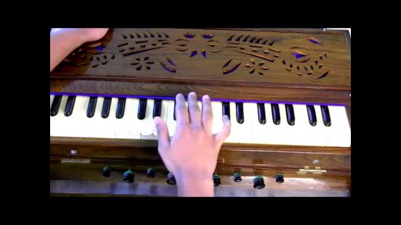 How to play - Aarti - Om Jai Jagdish Hare on Harmonium - Part 1