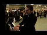 When a professional pianist Henri Herbert sits down at a public piano