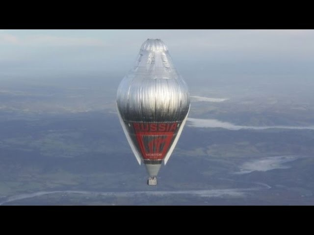 Russian balloonist Fedor Konyukhov Claims Round The World Record