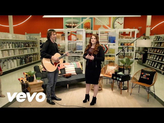 Meghan Trainor - Meghan Trainor surprises guests at Target by performing