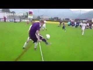 Amputee footballer scores INCREDIBLE goal that will leave you both dumbstruck and inspired