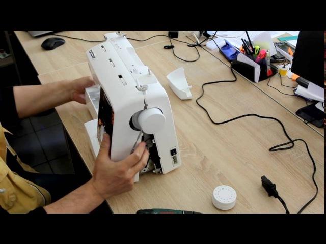 Устройство швейной машины - разбираем Brother Artwork 33A