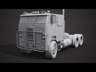 Моделирование грузовика в 3ds Max 3