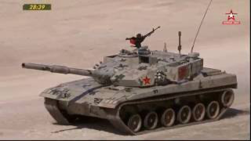 Tank Biathlon Russia T-72B3M Vs China Type96B B