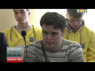 В прямом эфире клирик Спасского храма п. Андреевка священник Александр Насибулин.