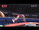 Одни из самых сложных элементов в спортивной гимнастике