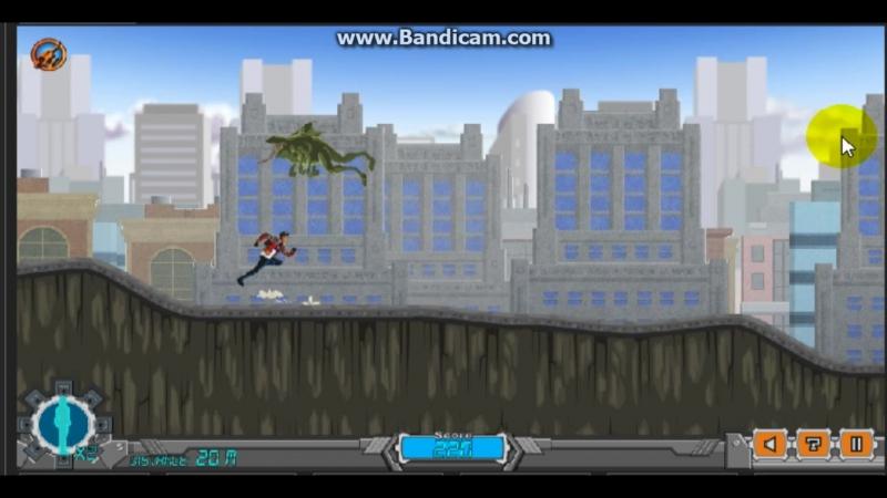 Обзор игры генератор Рекс nanite бегун