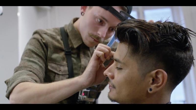 Slikhaar - Low Skin Fade ★ Mens Modern Undercut ★ Barber Drop Fade