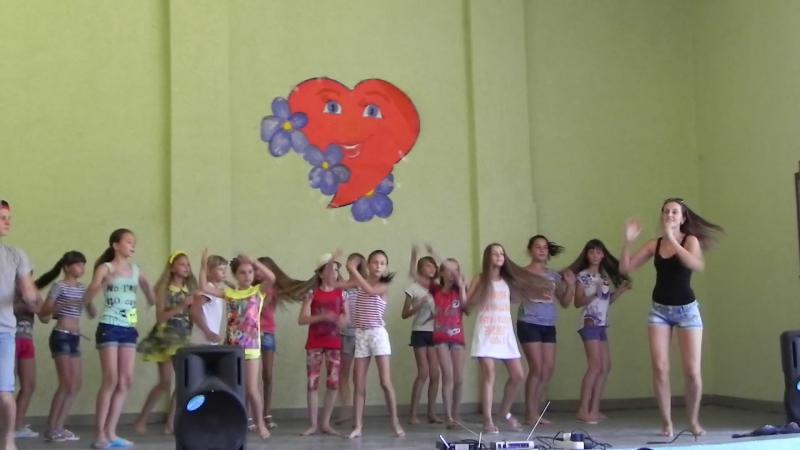 Танец (не детское время) 3й отряд 2я смена