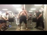 Пирамида в становой тяге от Эдди Холла! От 60 кг до 420 кг и обратно!